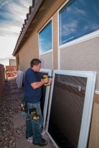 Preparing to Mount Impact Resistant Security Product